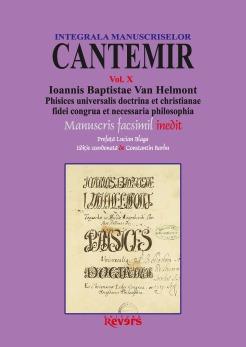 X. Ioannis Baptistae Van Helmont Phisices universalis doctrina et christianae fidei congrua et necessaria philosophia (I)