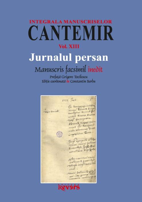 XIII. Jurnalul persan