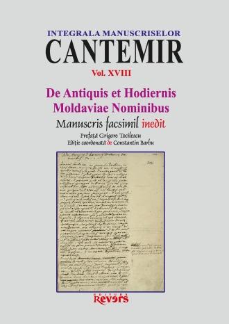 XVIII. De Antiquis et Hodiernis Moldaviae Nominibus