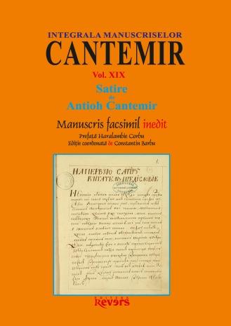 XIX. Satire de Antioh Cantemir