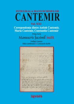 XXI. Corespondenta dintre Antioh Cantemir, Maria Cantemir, Constantin Cantemir (I)