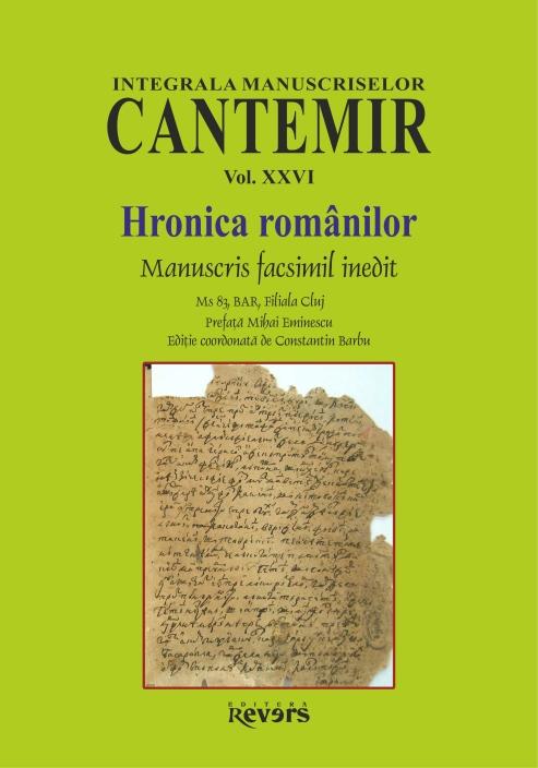 XXVI. Hronica Romanilor