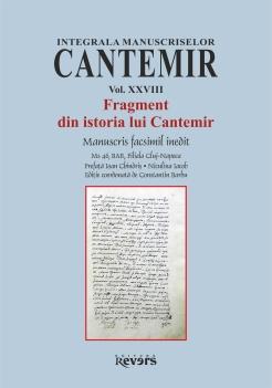 XXVIII. Fragment din istoria lui Cantemir