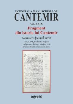 XXIX. Fragment din istoria lui Cantemir