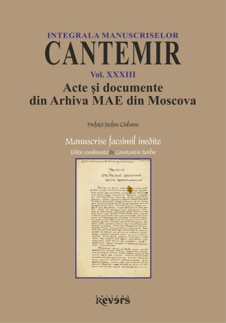 XXXIII. Acte si documente din Arhiva MAE Moscova