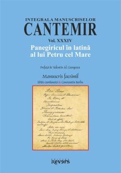XXXIV. Panegiricul in latina al lui Petru cel Mare