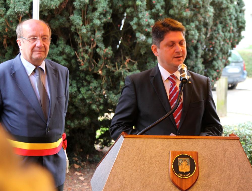Ministrul de Externe al Romaniei, domnul Titus Corlatean