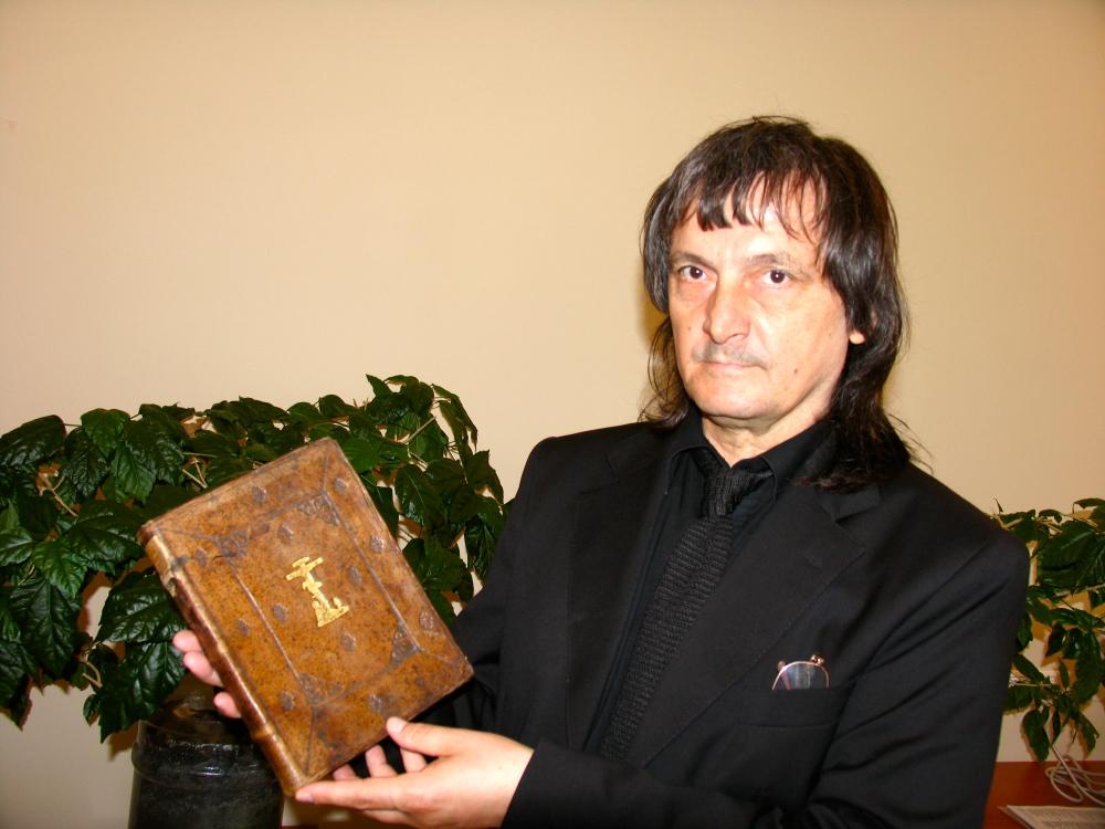 Moscova - Biblioteca de Stat - manuscrisul original Sacro-Sanctae Scientiae indepingibilis Imago