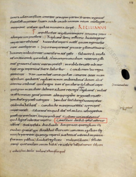 pagina Biblioteca Apostolică a Vaticanului