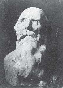 Cap de bătrân - Lucrare din gips din anul 1901, pierdută/distrusă. Bibliografie: Croitoru, Brezianu, Geist, Hulten/Istrati, Bach.