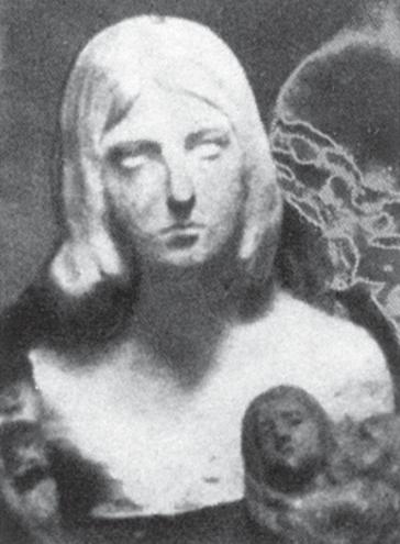 Studiu pentru Orgoliul - Lucrare din gips din anul 1905, pierdută/distrusă. Bibliografie: Brezianu, Geist, Bach.