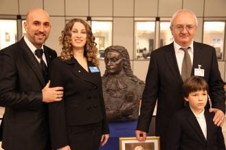 Romeo & Julia Saleno, inainte de concertul lor la receptia de la Ambasada Romaniei din Bruxelles