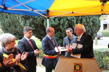 Inaugurarea, 21 Oct 2014, in prezenta Primarulului Anderlecht, Mr. Eric Tomas